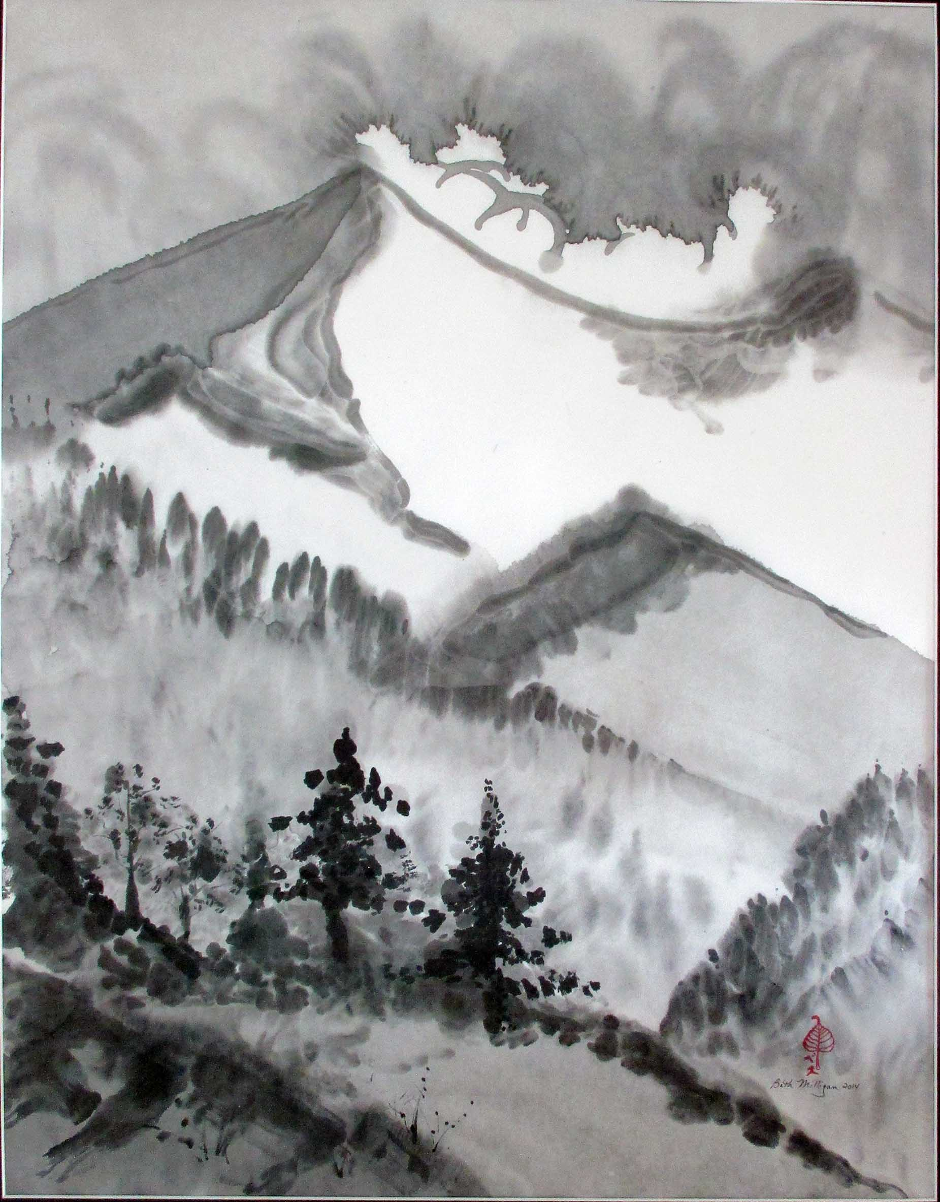 sumi e painting art and zen today